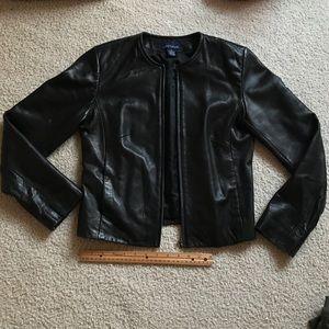 Ann Taylor 100% leather jacket